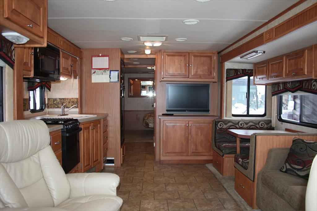2008 Used Tiffin Allegro 35 Qba Bunk Beds Class A In Minnesota Mn