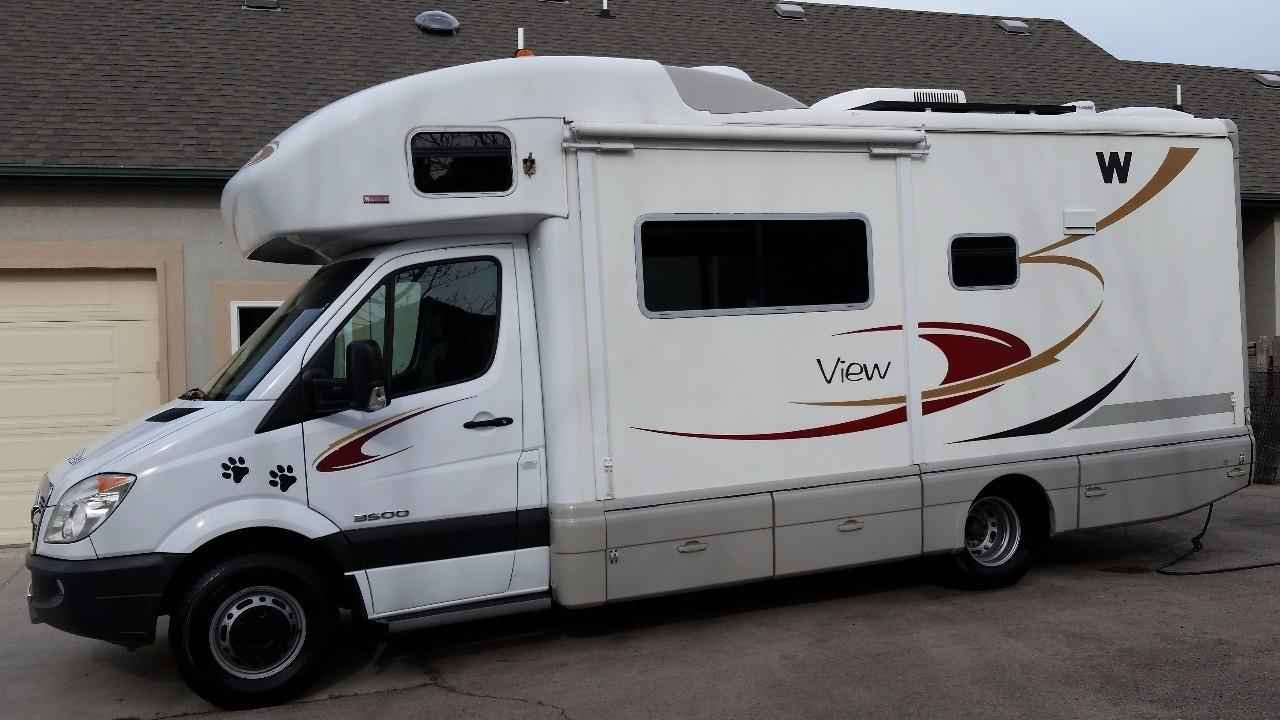 Creative 2008 Used Winnebago VIEW 24H Class C In Utah UT 49000