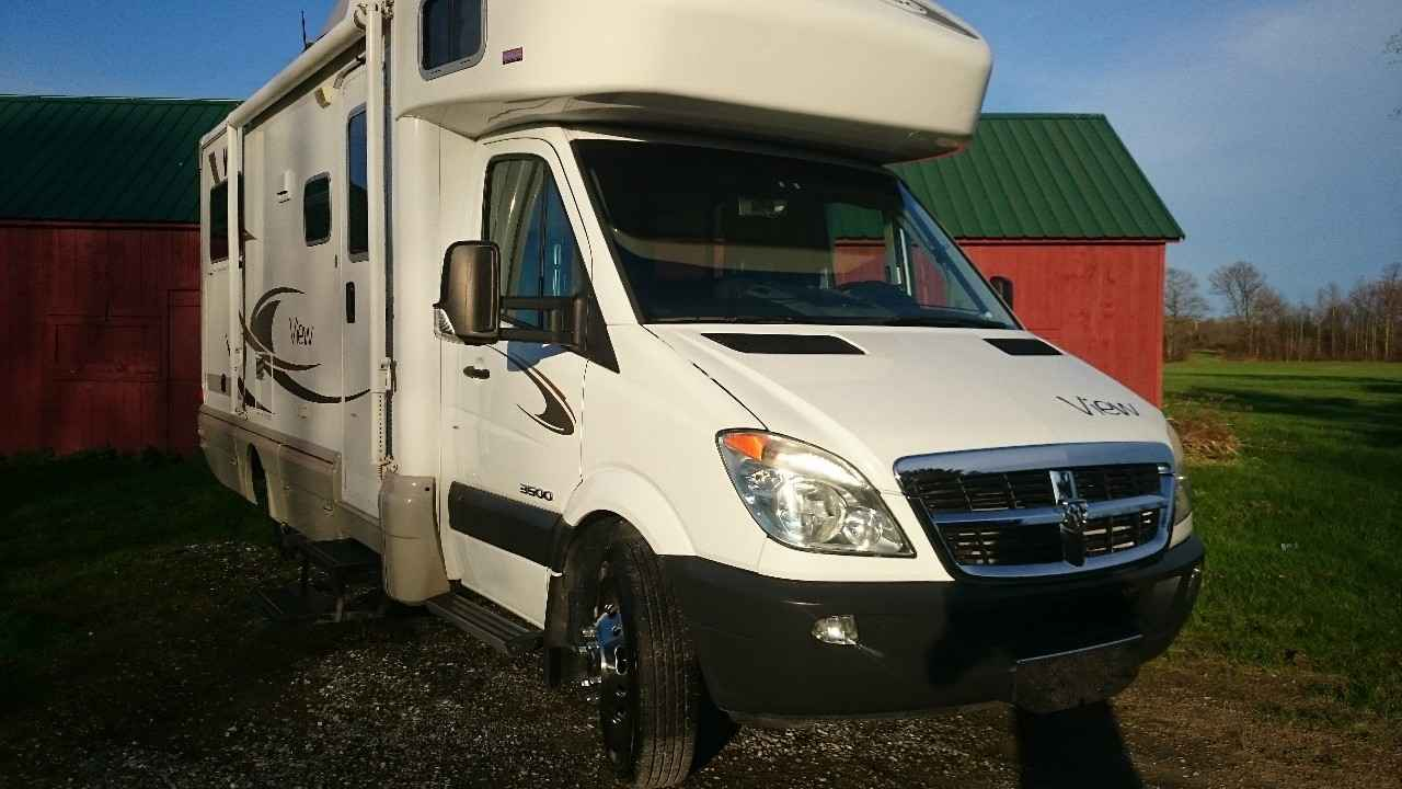 Amazing 2008 Winnebago View Class C In Queensbury NY  White 2008 Car For Sale In Qu
