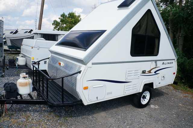 2009 Used Aliner Ranger 12 Off Road Pkg  Pop Up Camper in