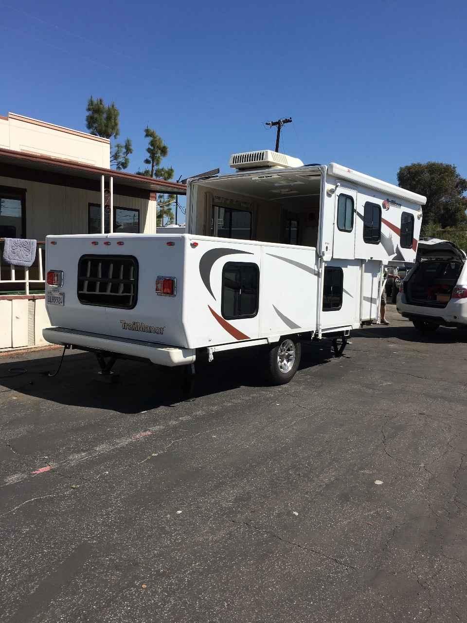 2009 Used Trailmanor 2720 Pop Up Camper in California CA