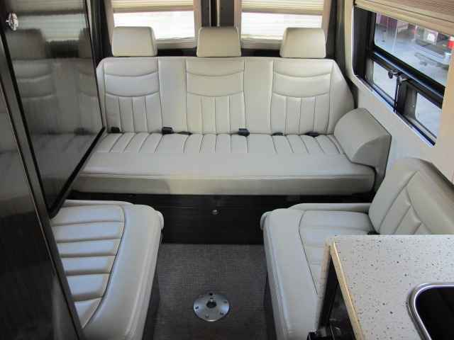 2010 Used Airstream Interstate 3500 Rear Electric Sofa