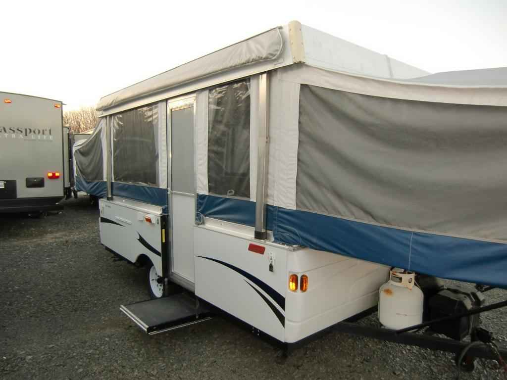2010 used coleman americana le americana le series pop up for Coleman s fish market