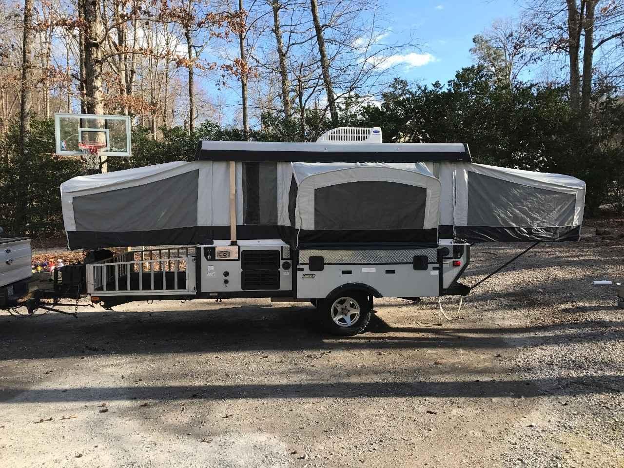 2010 Used Coleman Evolution Pop Up Camper In North Carolina Nc