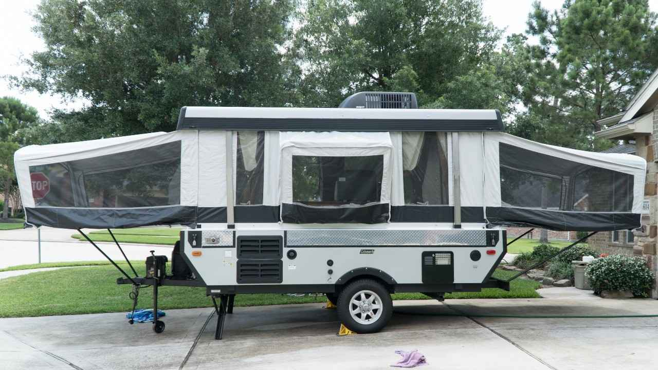 2010 Used Coleman Evolution Pop Up Camper In Texas Tx