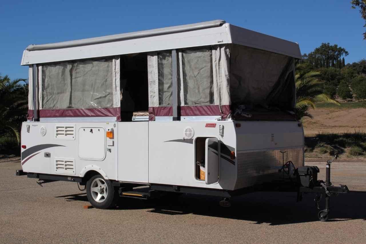 Highlander 2010 Model >> 2010 Used Coleman HIGHLANDER NIAGARA Pop Up Camper in California CA
