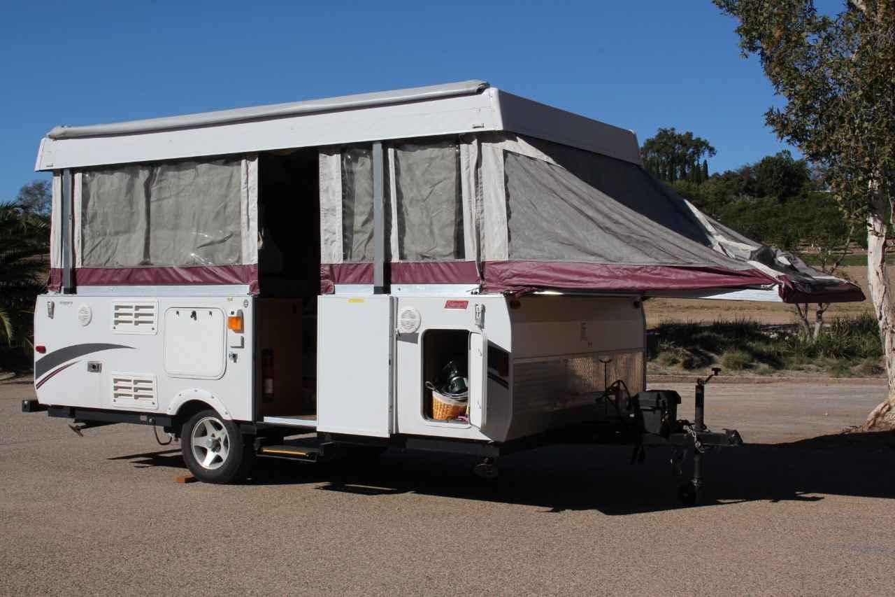 2010 Used Coleman Highlander Niagara Pop Up Camper In