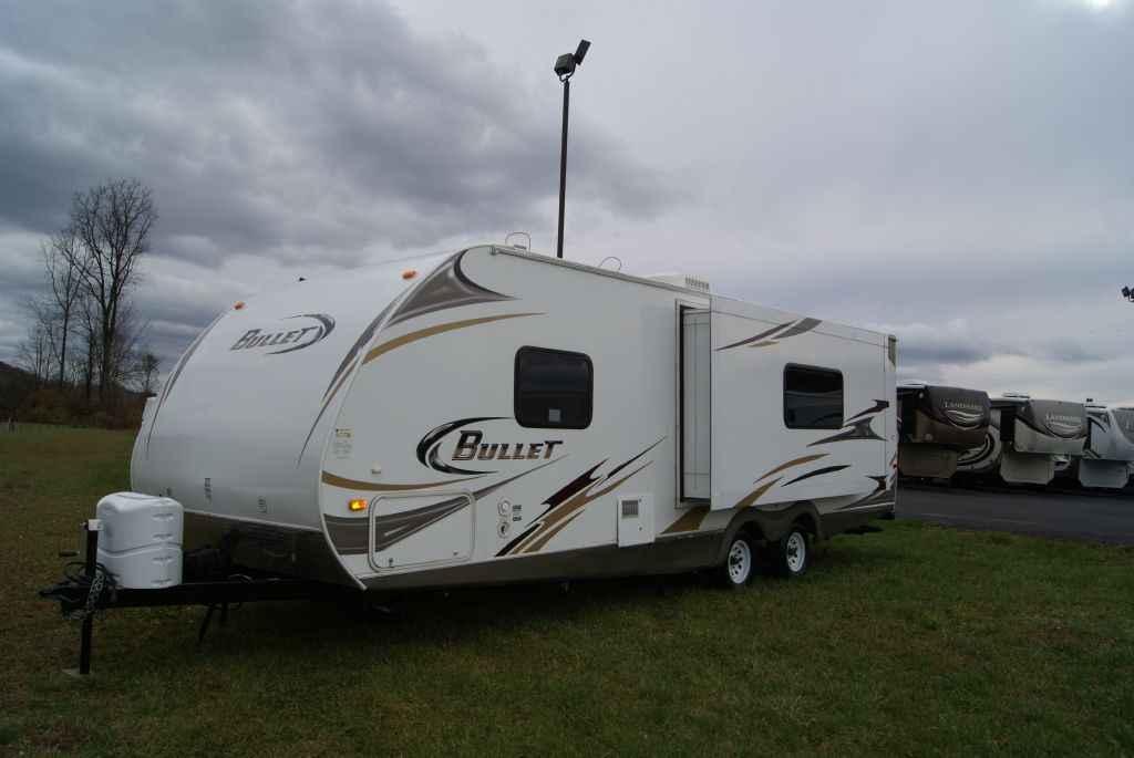 2010 Used Keystone BULLET 250RKS Travel Trailer in ...