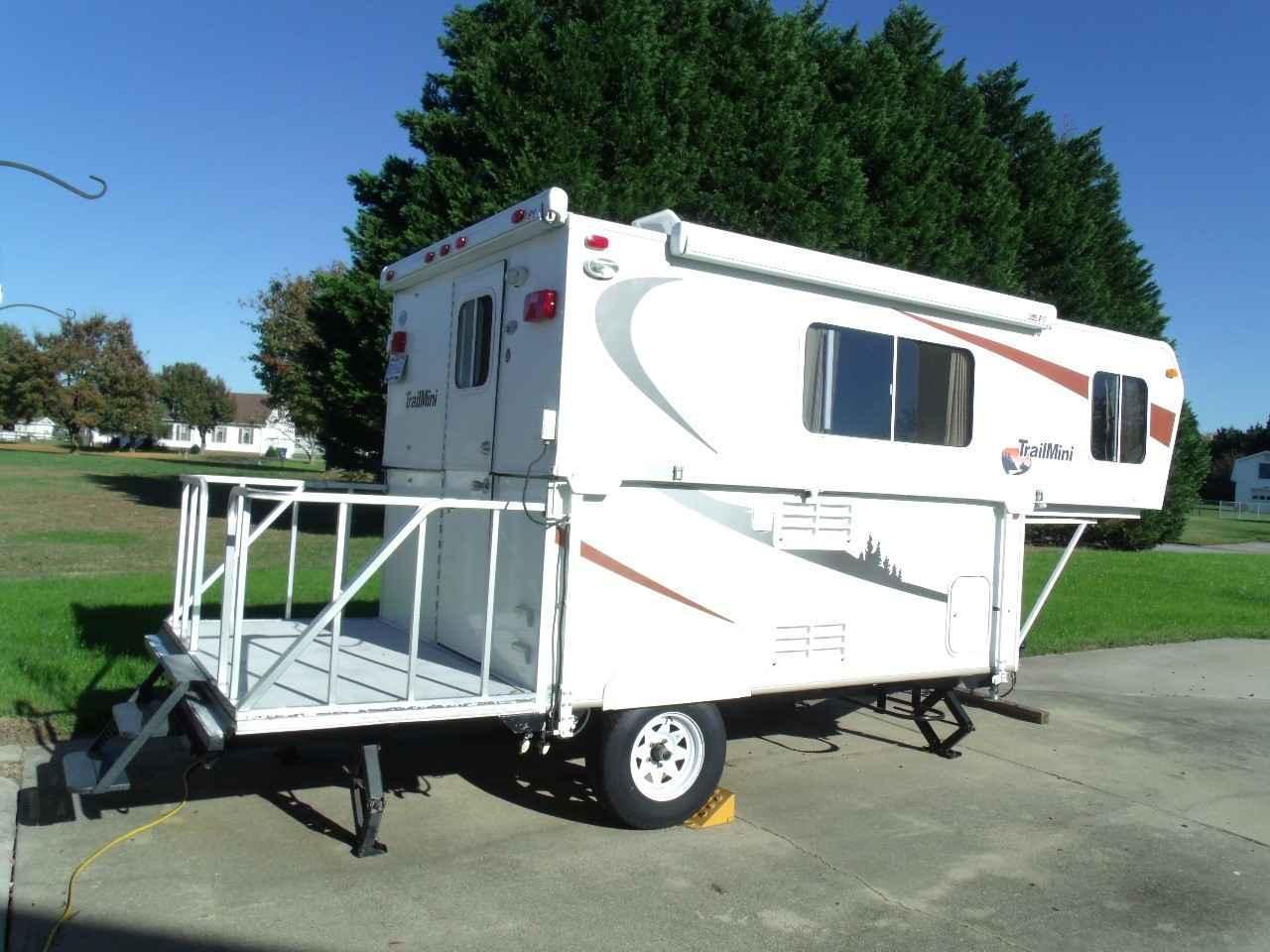 2010 Used Trailmanor TRAIL MINI Travel Trailer in Virginia VA