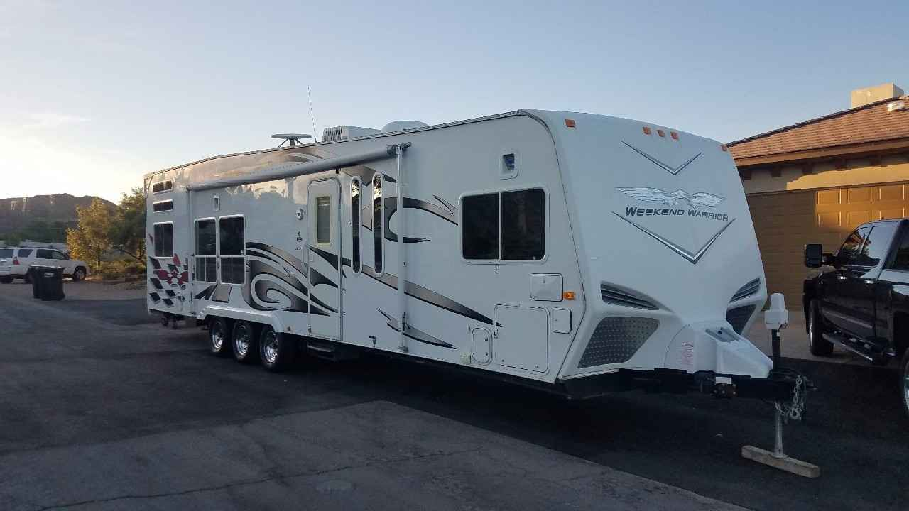 Used Toy Haulers : Used weekend warrior fsc toy hauler in nevada nv