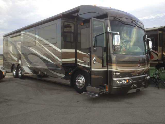 2011 Used American Coach American Heritage 45e Class A In