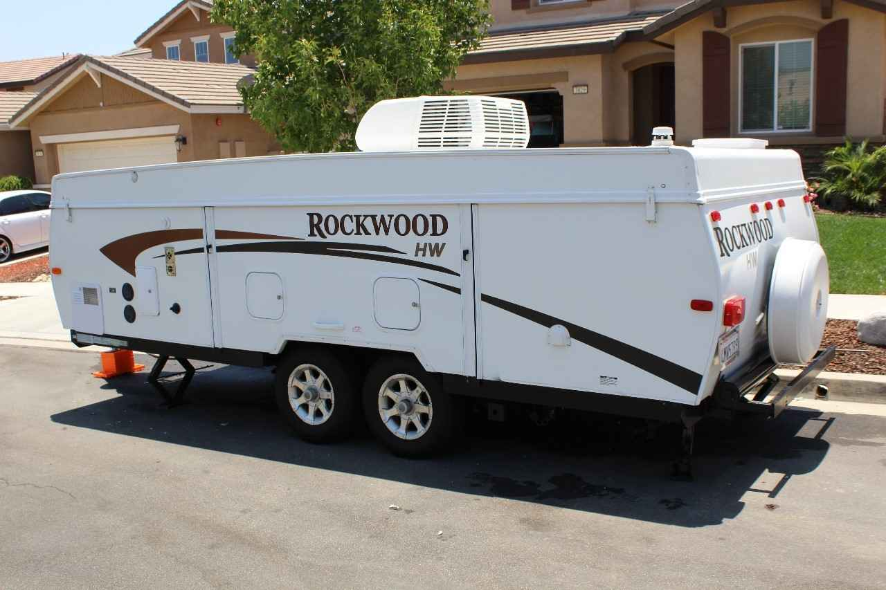 2011 Used Forest River Rockwood High Wall Hw296 Pop Up