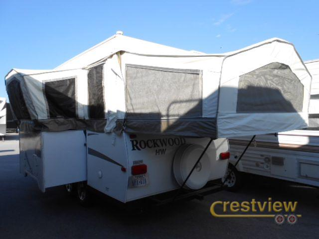 Crestview Rv Georgetown Texas >> 2011 Used Forest River Rv Rockwood High Wall Series HW296 ...