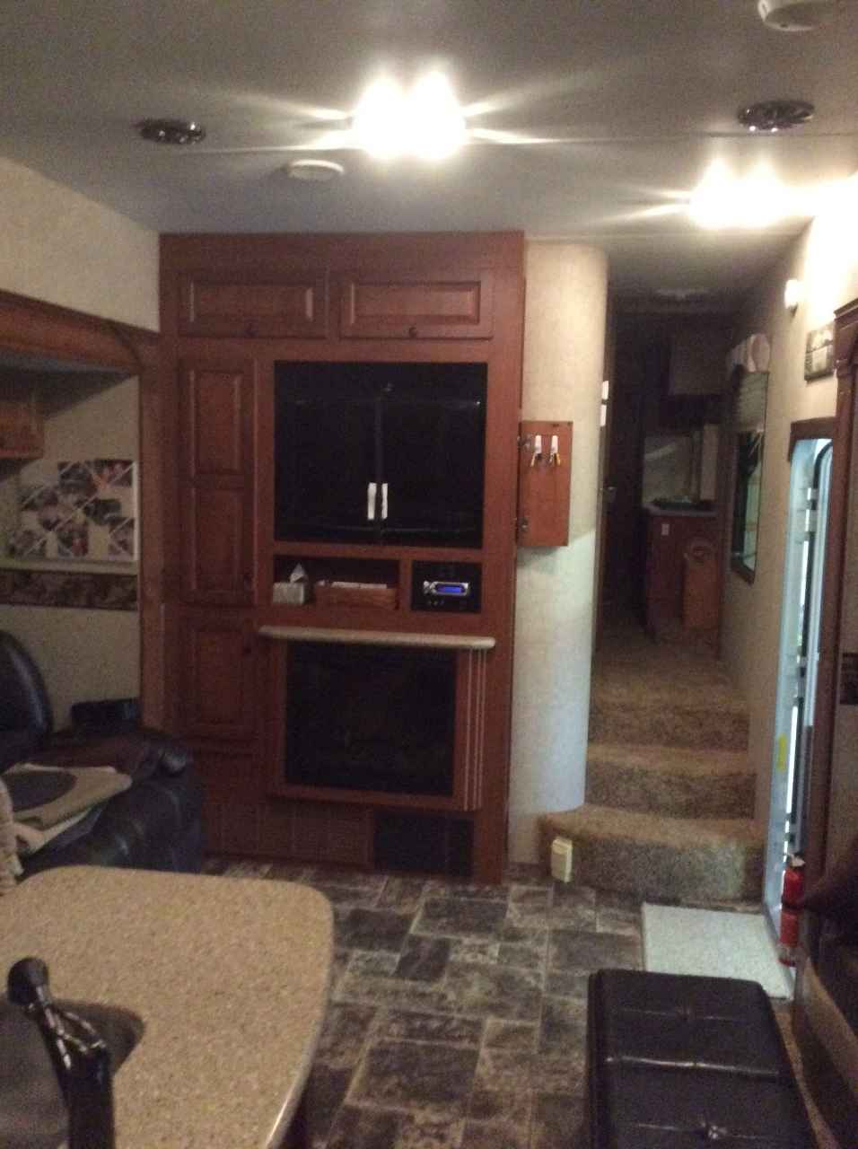 2011 Used Heartland Cyclone 3800 Toy Hauler In Indiana In