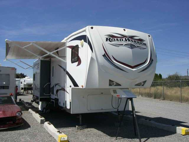 2011 Used Heartland Road Warrior 385rw Toy Hauler In