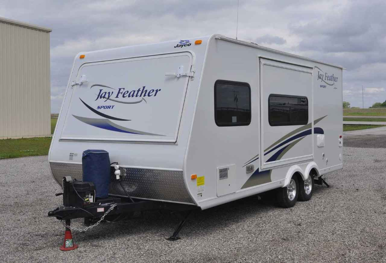 2011 Used Jayco JAY FEATHER ULTRA LITE X20E Travel Trailer ...