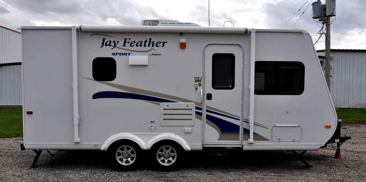 Innovative 2013 Jayco Jay Feather 23B ULTRA LITE Travel Trailer Cincinnati OH