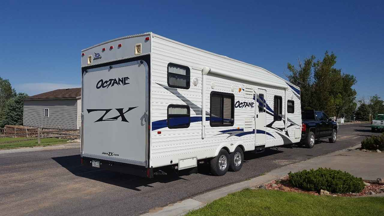 Used Toy Haulers : Used jayco octane a toy hauler in colorado co