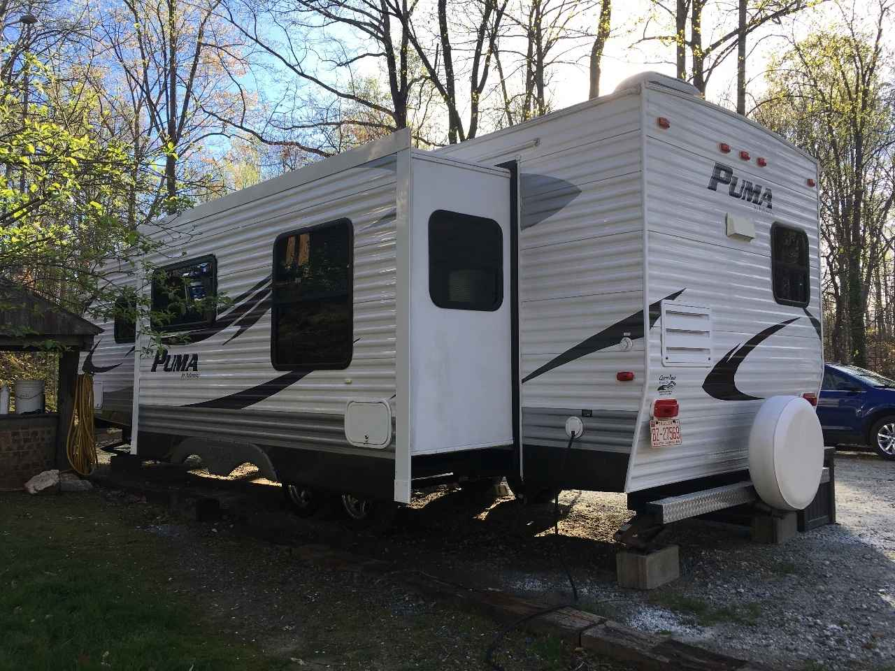 2011 Used Palomino Puma 30 Rkss Travel Trailer In North