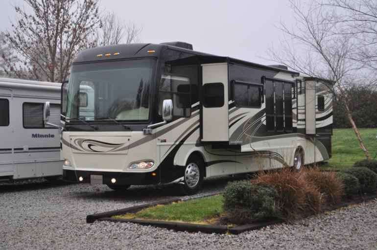 2011 used thor motor coach tuscany class a in texas tx for Class a motor coach