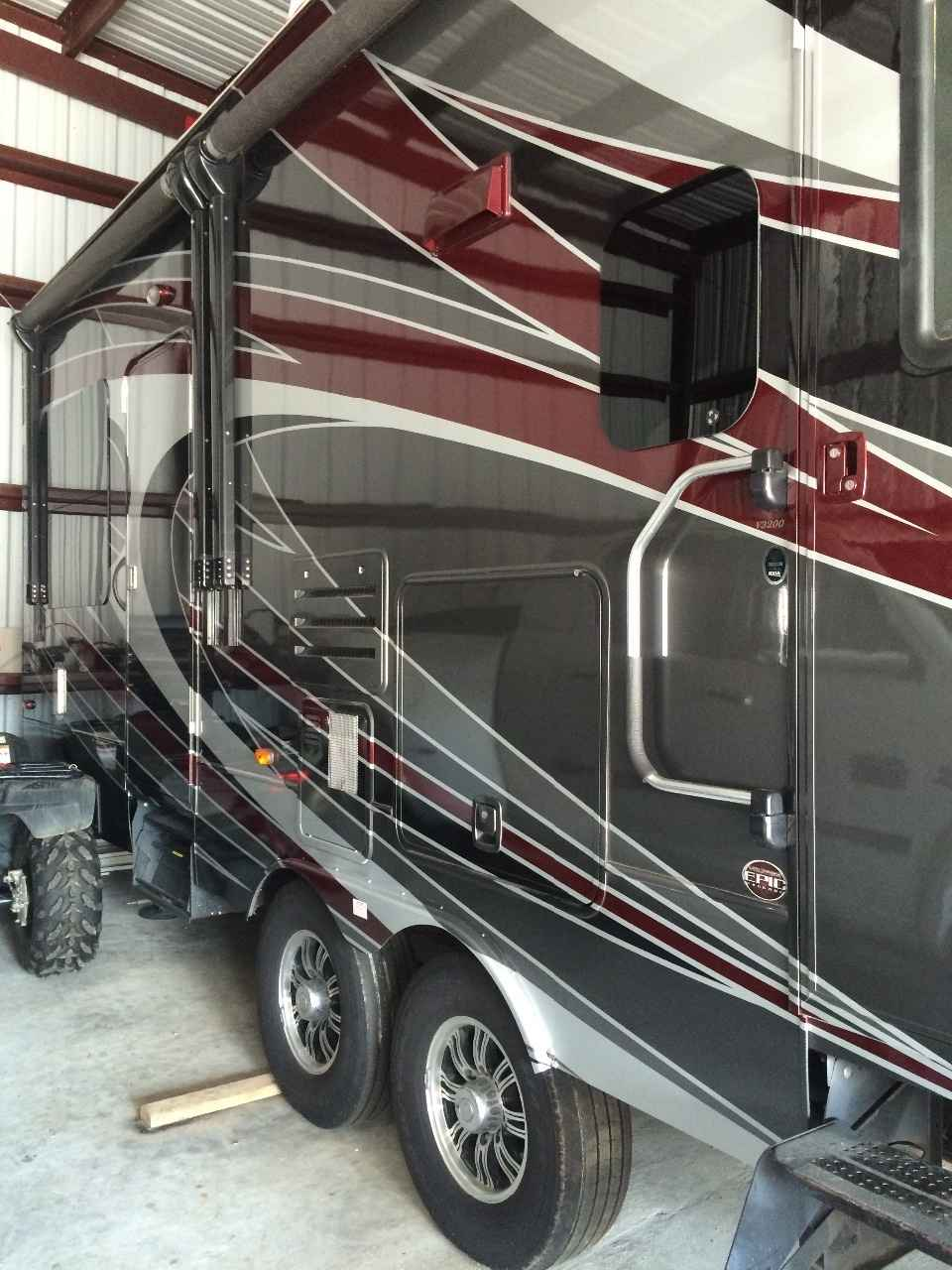 2012 Used Dutchmen Voltage 3200 Toy Hauler In Louisiana La
