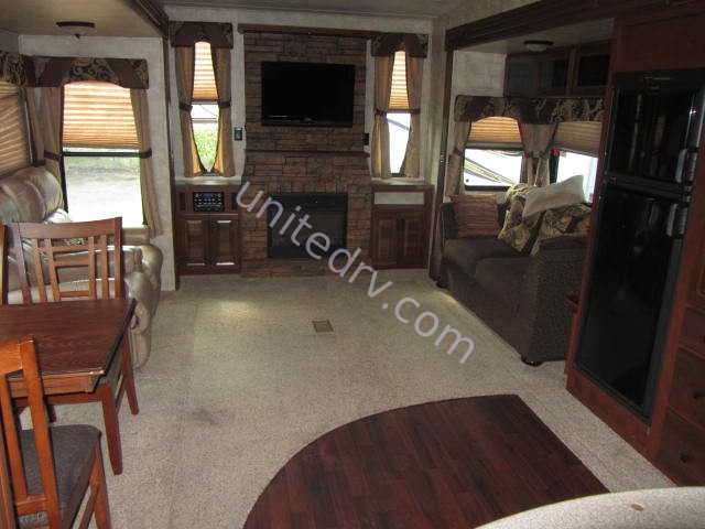 2012 Used Forest River Sierra 346ret Fifth Wheel In Texas Tx
