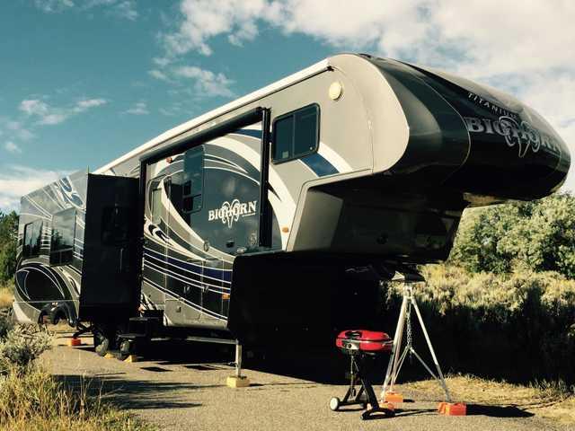 2012 Used Heartland Bighorn Ti 32 Fifth Wheel In Colorado Co