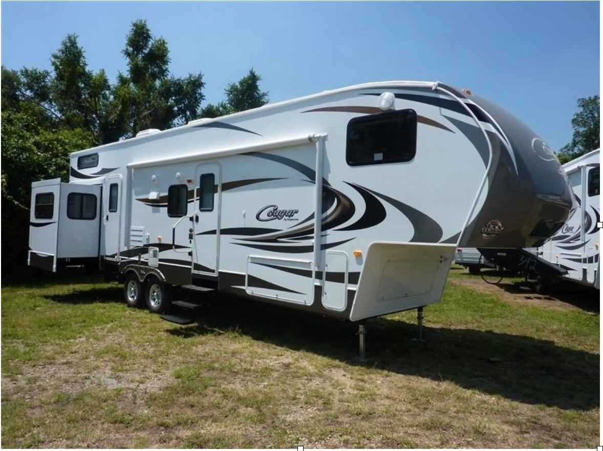 2012 Used Keystone Cougar 324rlb Fifth Wheel In Nevada Nv