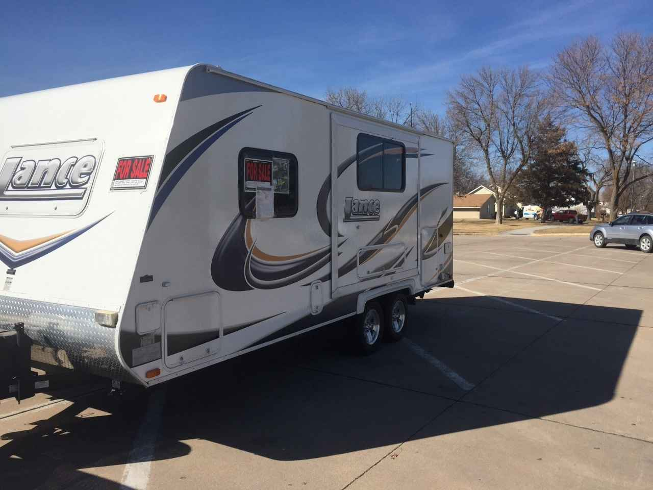 2012 Used Lance 1985 Travel Trailer In Nebraska Ne