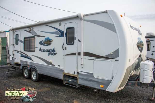 2012 Used Outdoors Rv Timber Ridge 240rks Travel Trailer