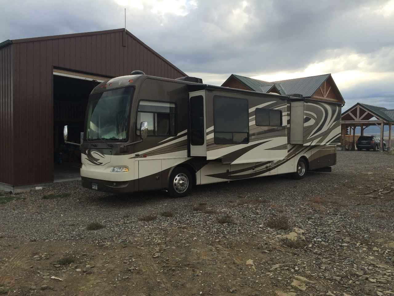 2012 Used Thor Motor Coach Astoria Class A In Montana Mt