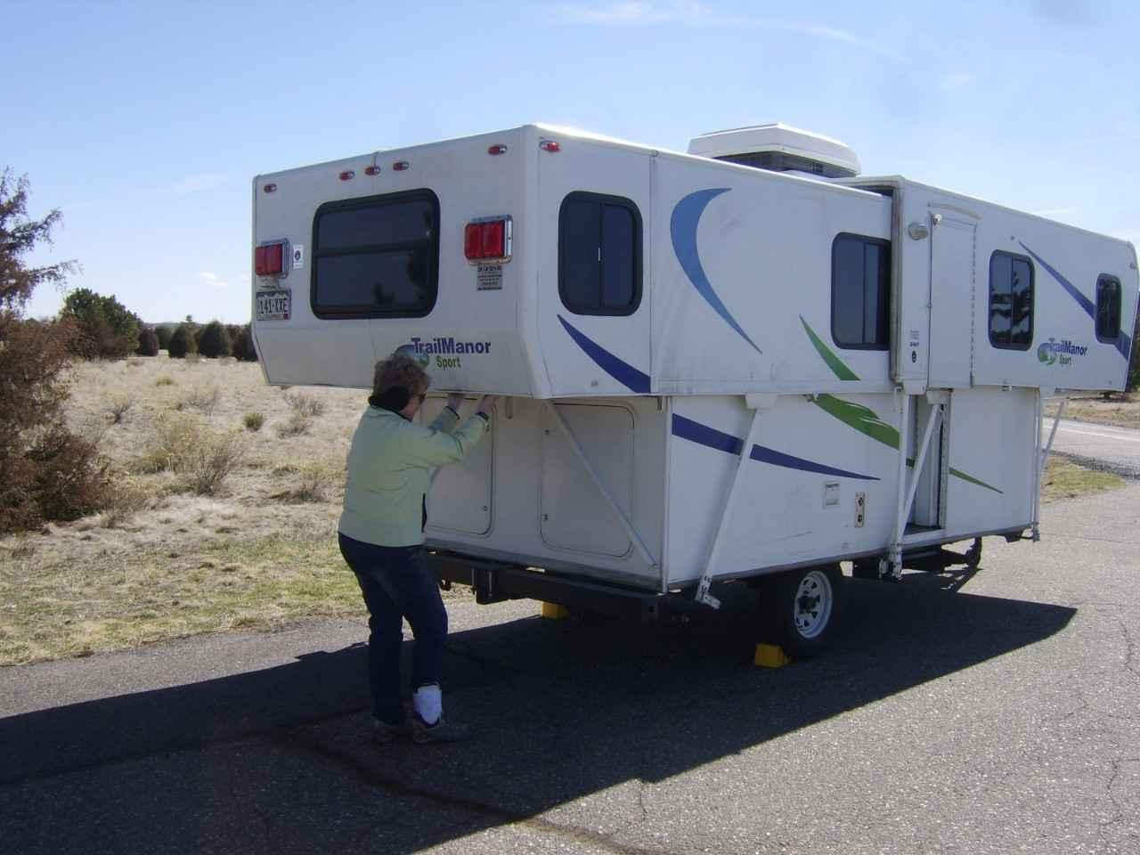 2012 Used Trailmanor 2417 SPORT Pop Up Camper in Colorado CO