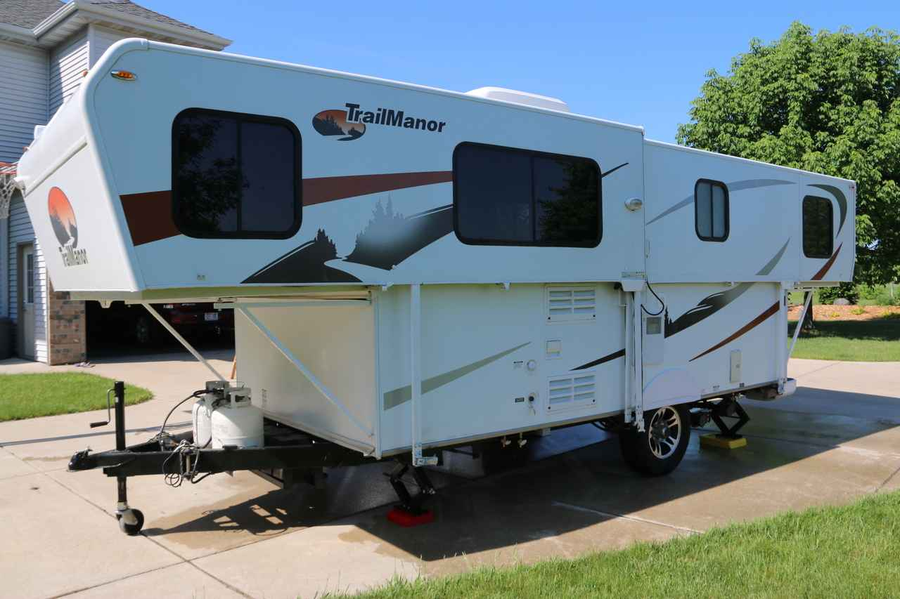 2012 Used Trailmanor 2720 Pop Up Camper in Wisconsin WI