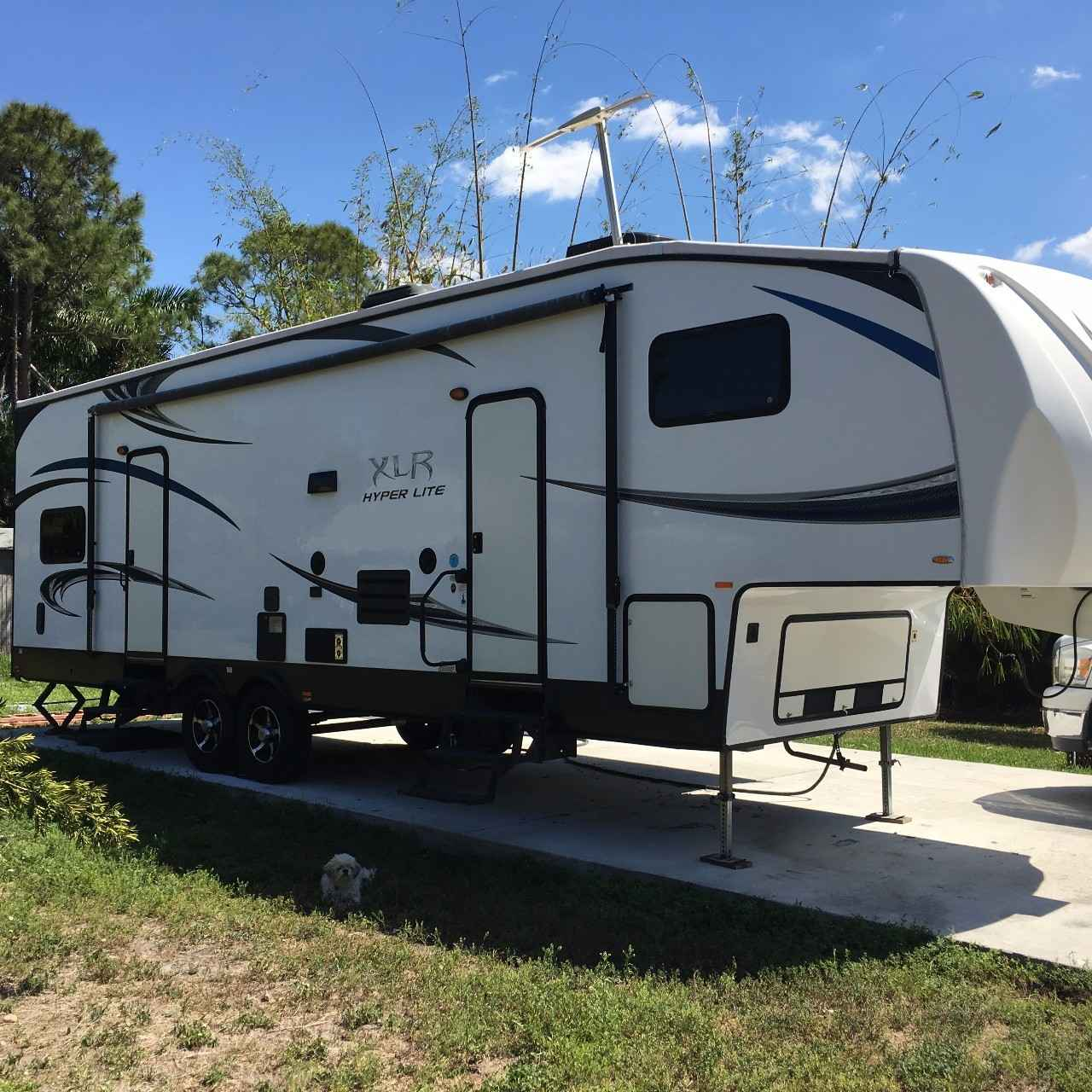 Toy Hauler With Outdoor Kitchen: 2013 Used Forest River HYPER LITE XLR Toy Hauler In Florida FL