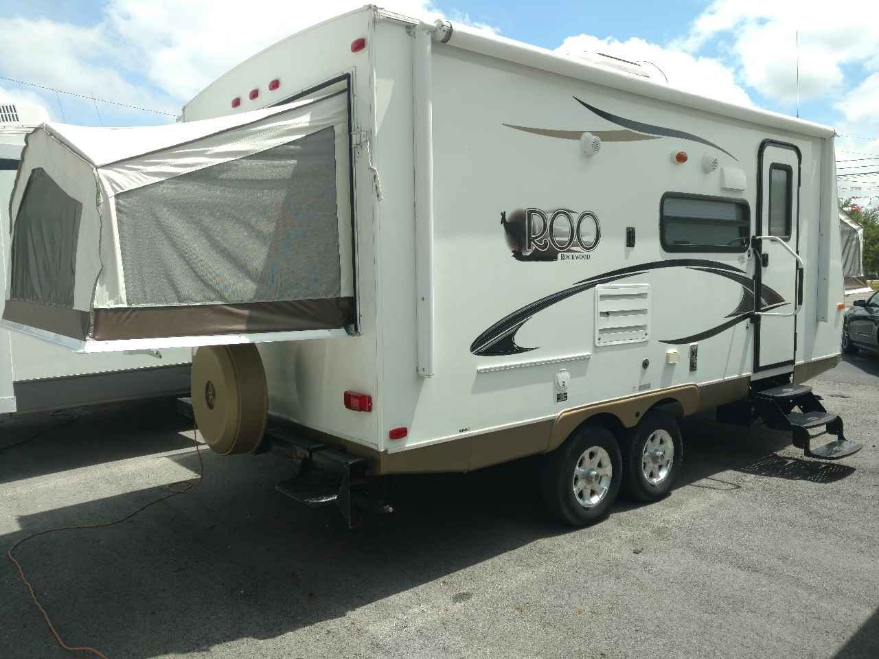 2013 used forest river rockwood roo 21ss travel trailer in