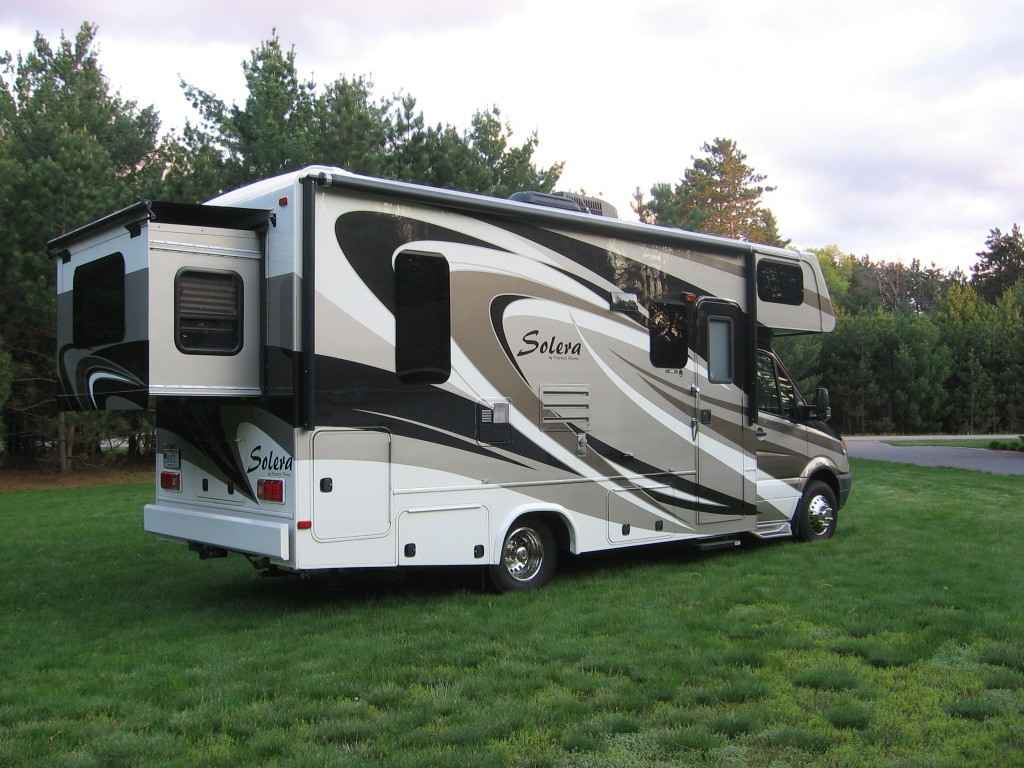 2013 Used Forest River Solera 24r Class C In Wisconsin Wi