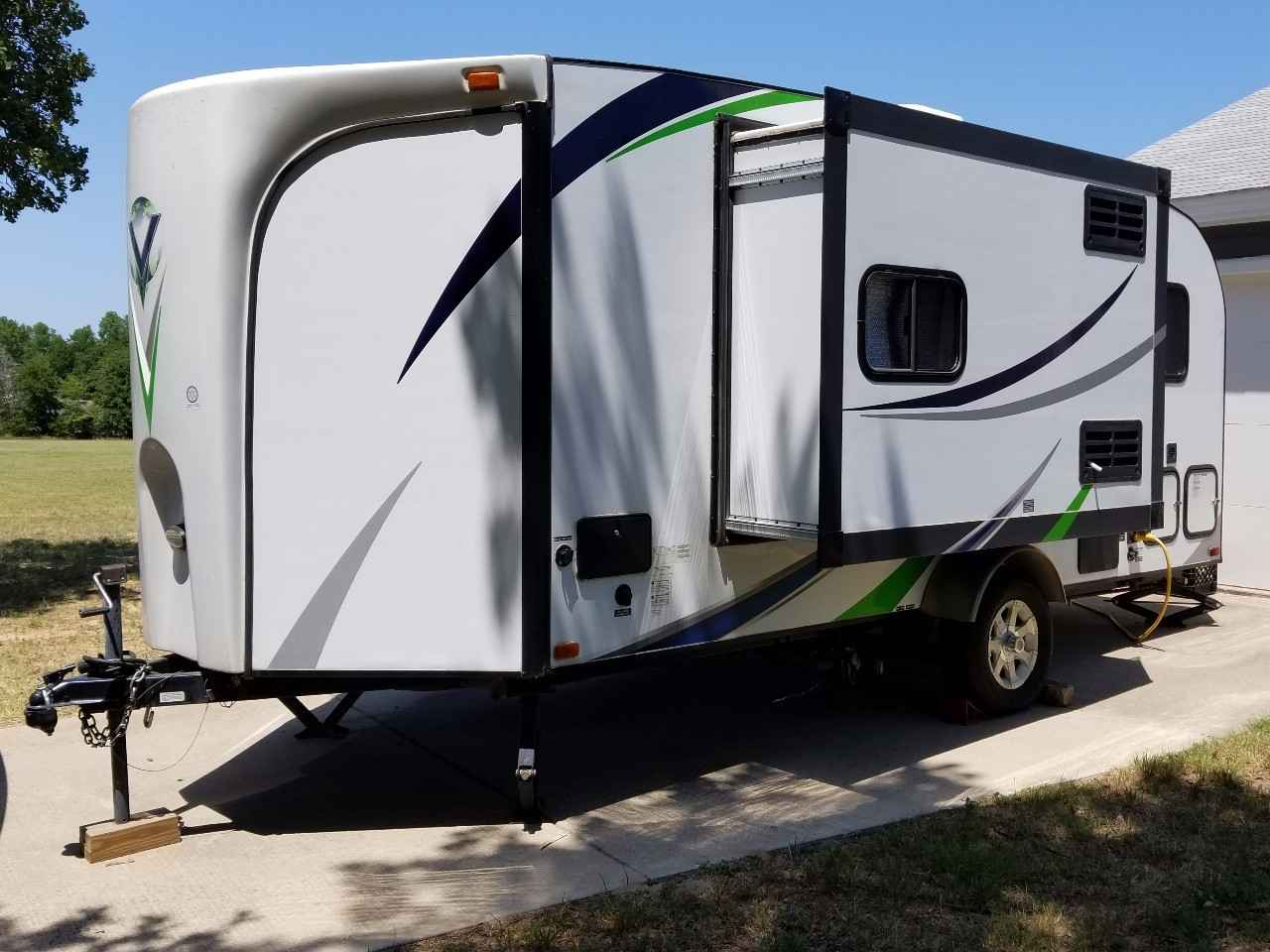 2013 Used Forest River Vibe Travel Trailer In Oklahoma Ok