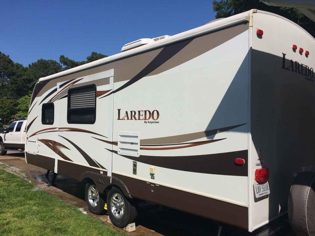 2013 Used Keystone Laredo 240mk Travel Trailer In Virginia Va
