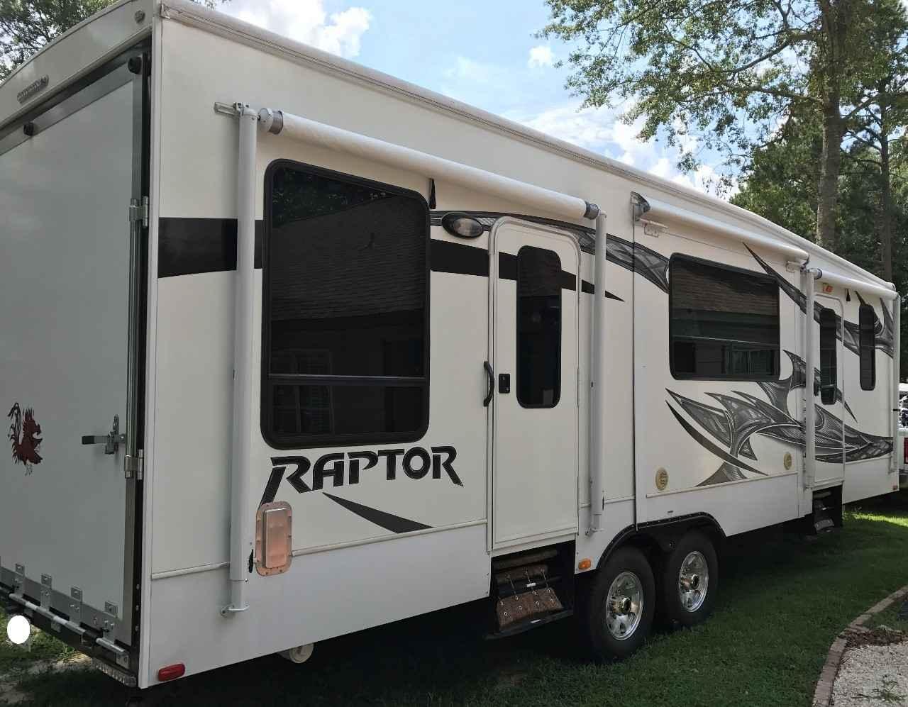 Used Toy Haulers : Used keystone raptor fs toy hauler in south carolina sc