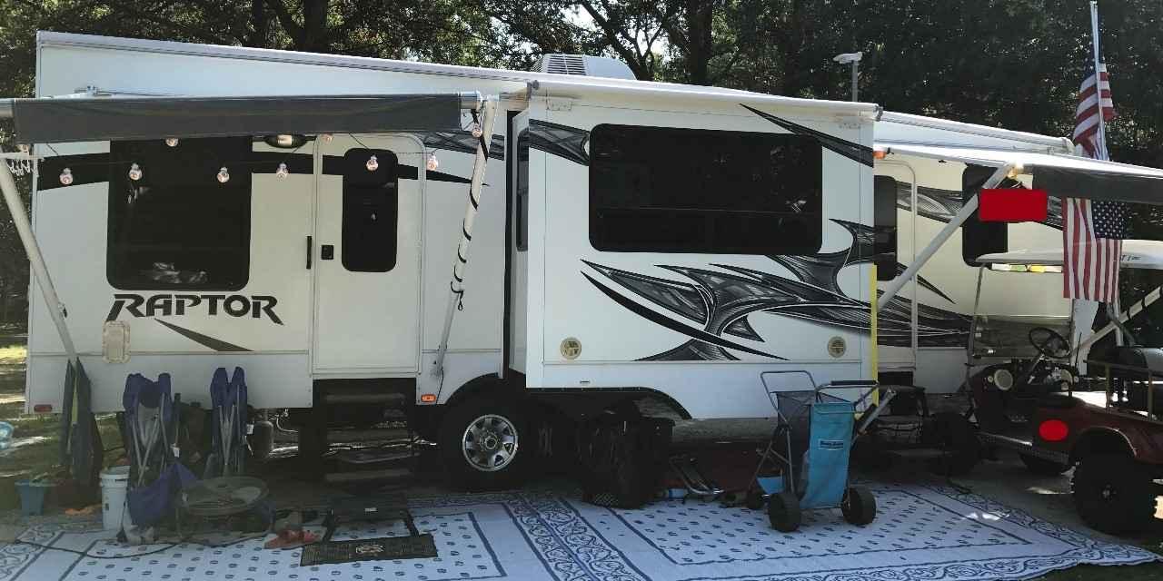 2013 Used Keystone Raptor 30fs Toy Hauler In South Carolina Sc