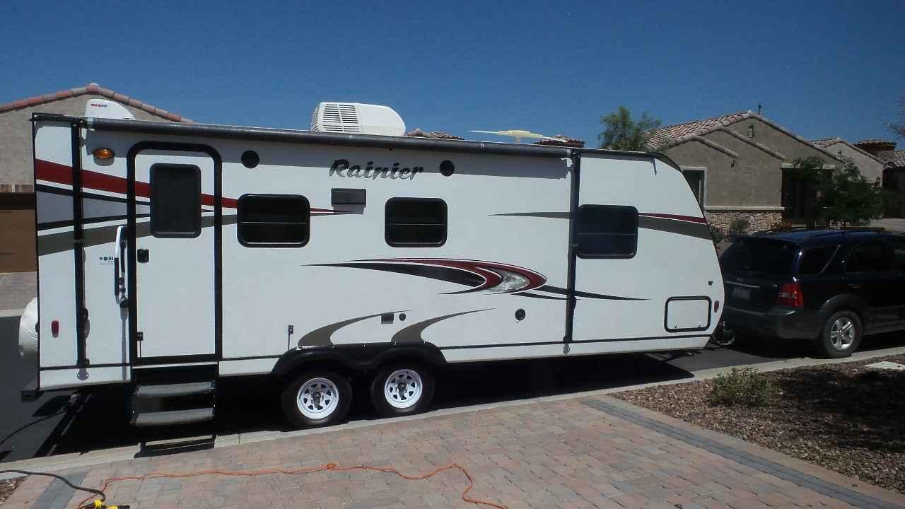 2013 Used Mckenzie Rainier Travel Trailer In Arizona Az