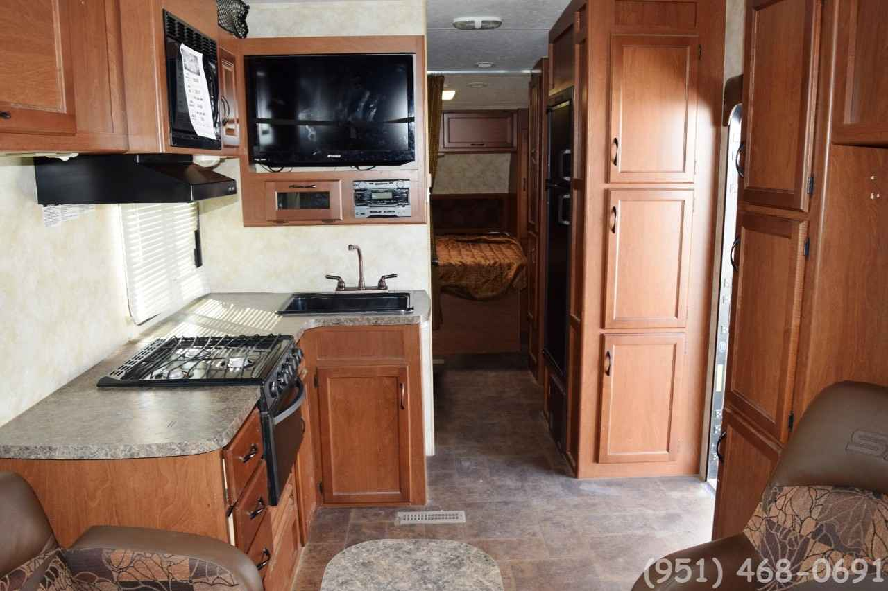 2013 Used Pacific Coachworks Sandsport 280fs Toy Hauler In