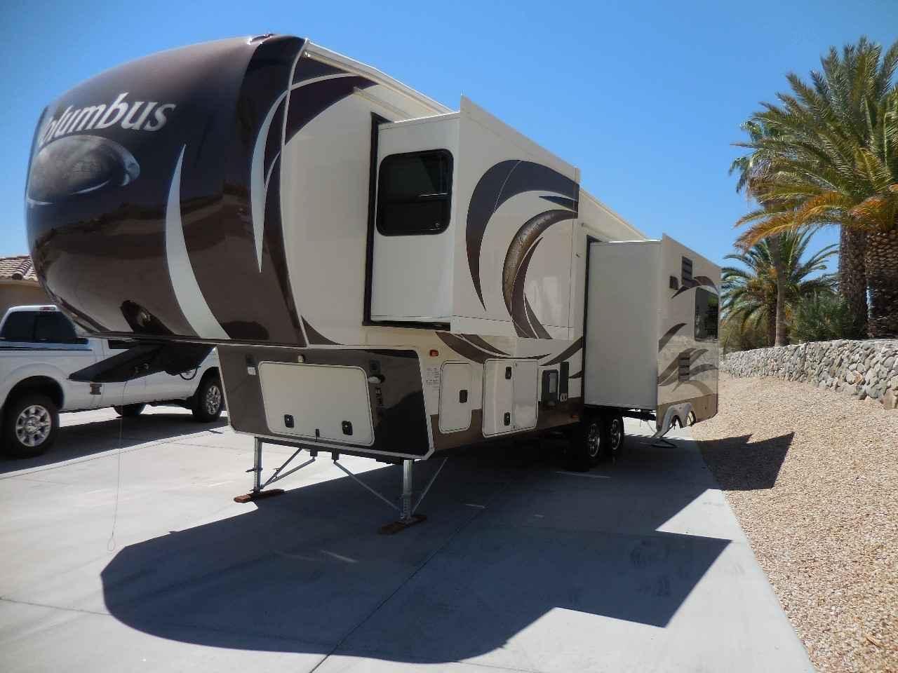 2013 Used Palomino Columbus 295rl Fifth Wheel In Arizona Az