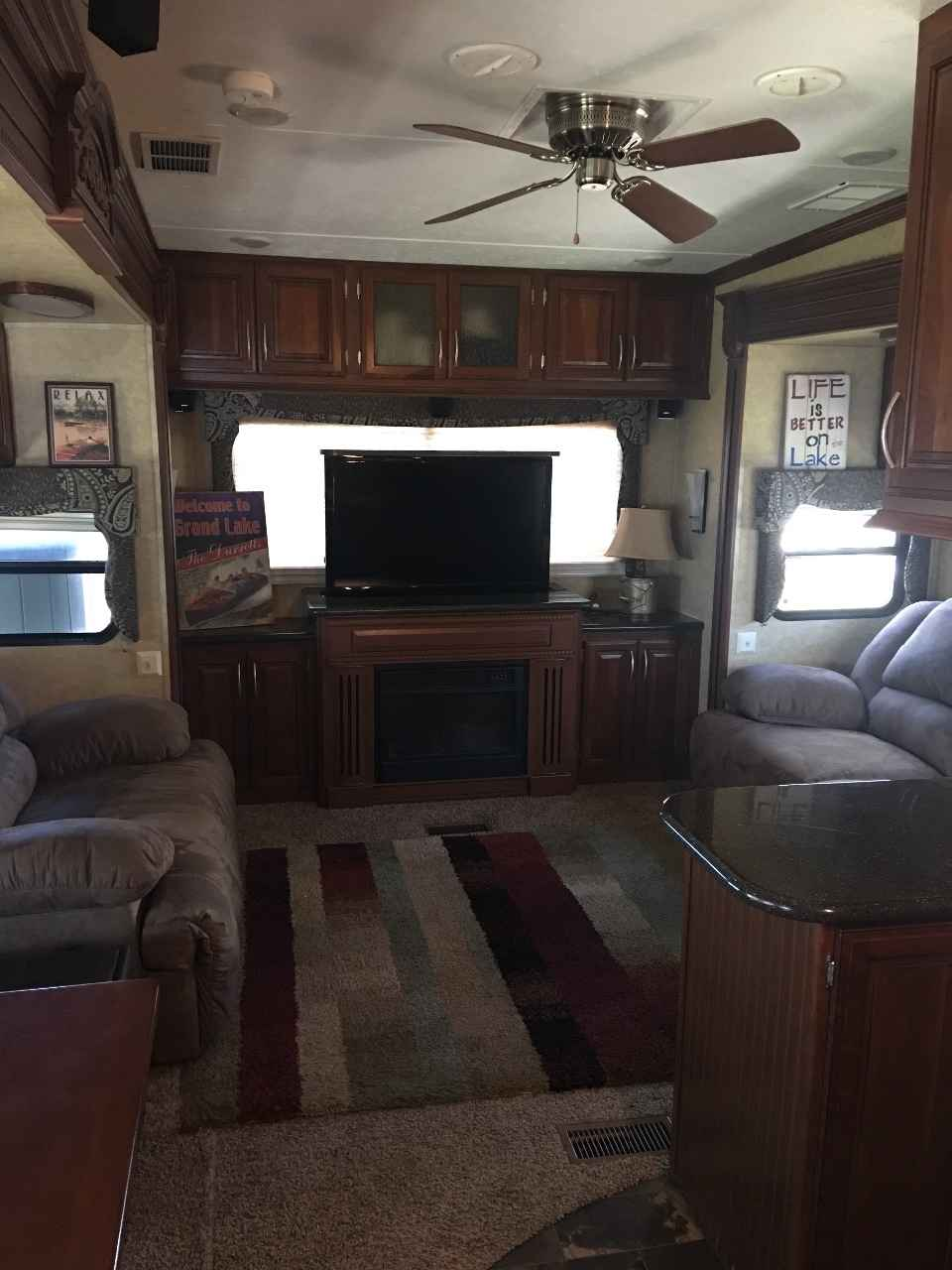 2013 Used Prime Time Sanibel Fifth Wheel In Oklahoma Ok