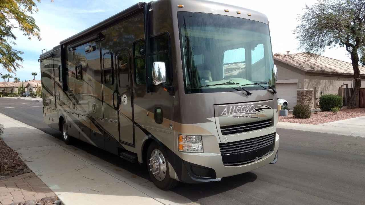 2013 used tiffin motorhomes allegro 34tga class a in for Motors and vehicles az