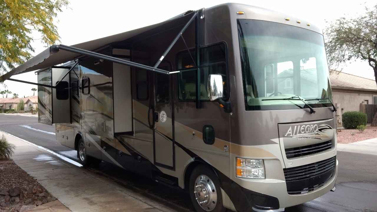 2013 used tiffin motorhomes allegro 34tga class a in for Allegro home