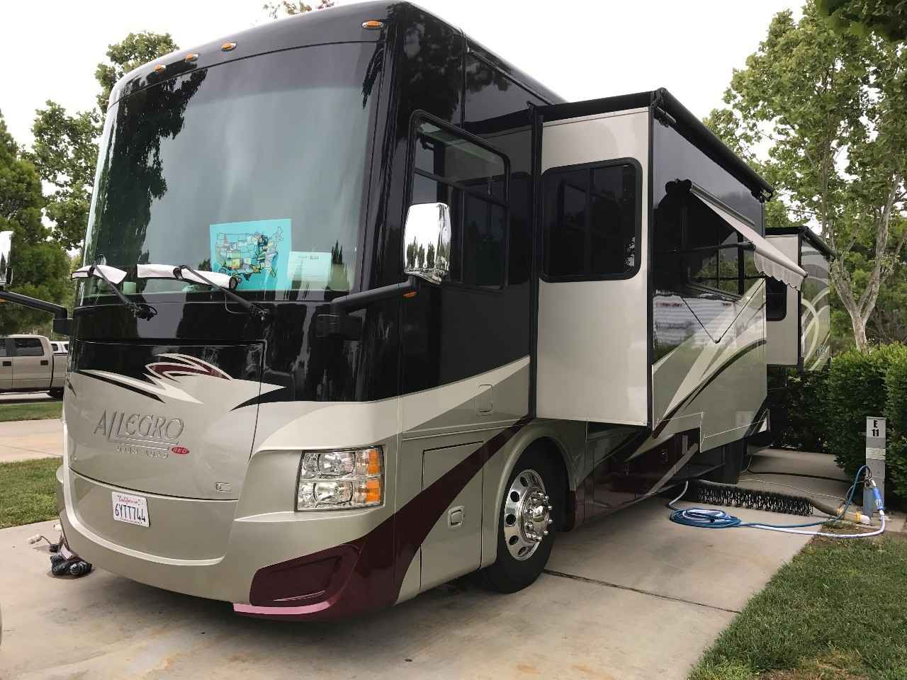 2013 Used Tiffin Motorhomes Allegro Red 34qfa Class A In