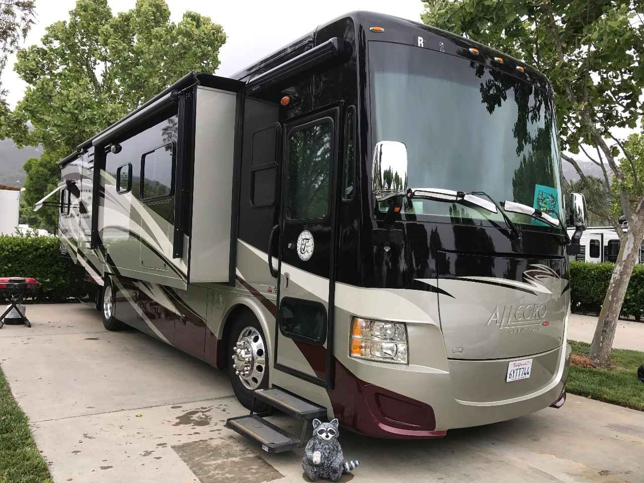 2013 used tiffin motorhomes allegro red 34qfa class a in for Allegro home