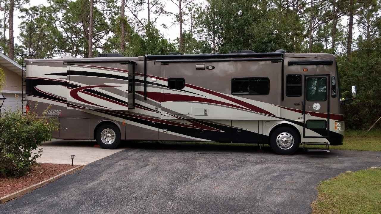 2013 used tiffin motorhomes allegro red 38qra class a in for Motor and vehicles fl