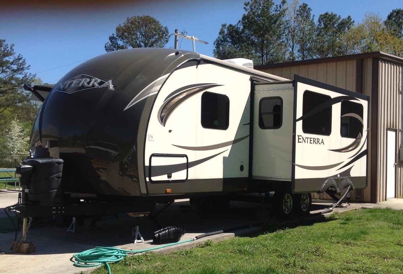 2014 Used Cruiser Rv Corp Enterra Travel Trailer In Alabama Al